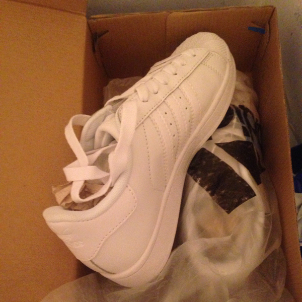 Used Adidas White Sneakers. Top Quality. Size 41 in Dubai, UAE