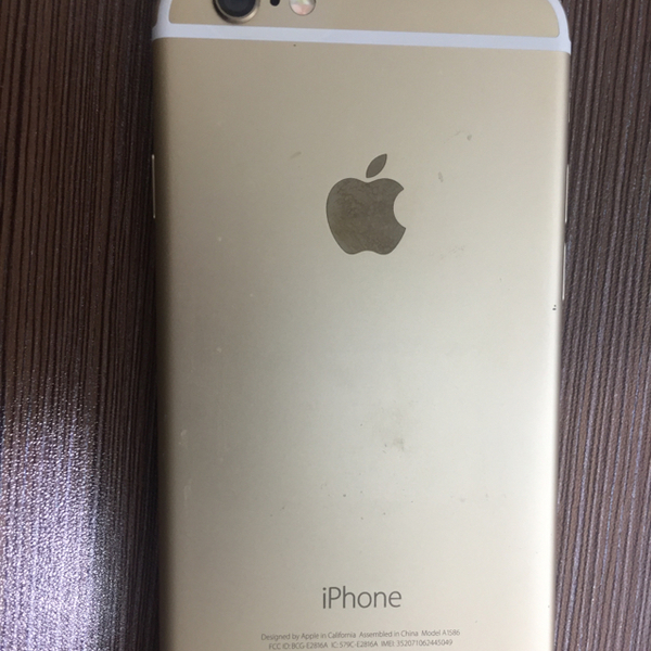 iphone6 64gb gold  facetime .