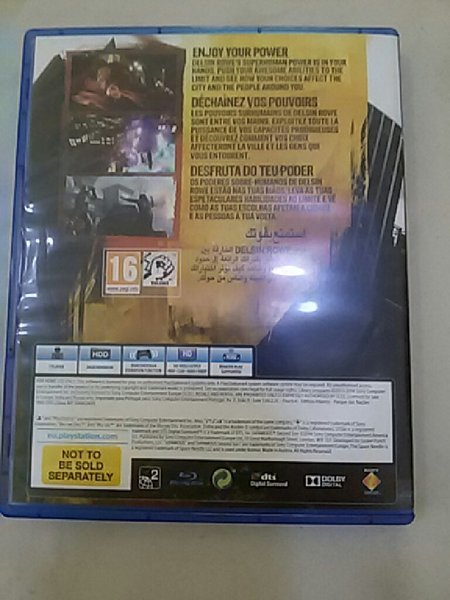 Used PS4 Game Infamous Second Son in Dubai, UAE