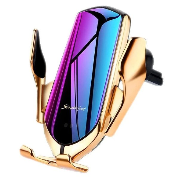 Used R2 Automatic Wireless Car Charger gold in Dubai, UAE