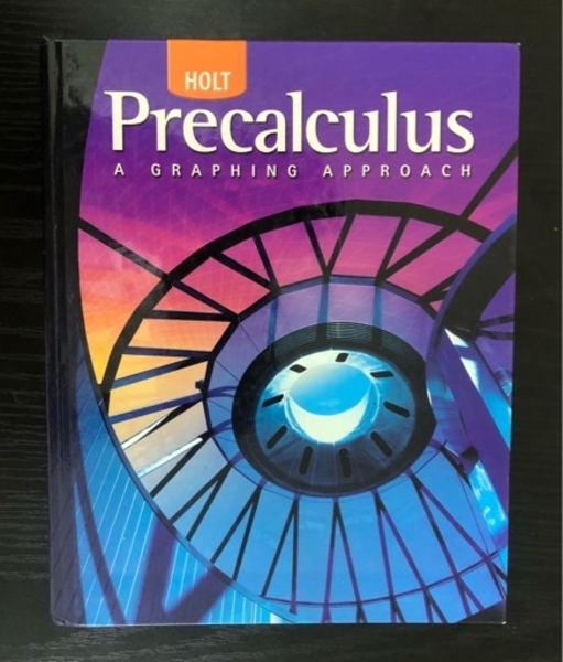 Used Precalculus a graphing approach HOLT in Dubai, UAE