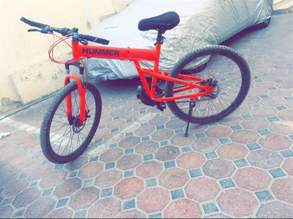 Used Hummer Foldable🚲💯💯💯 And Having Some Repair. Thats Why The Price Is Decreased. In Running Condition 😄 in Dubai, UAE