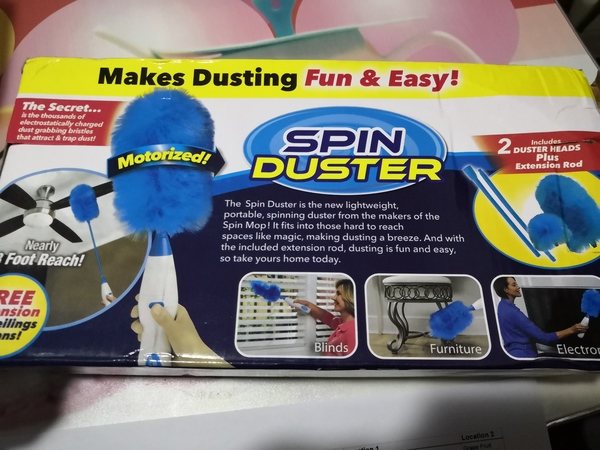 Used Spin Duster in Dubai, UAE