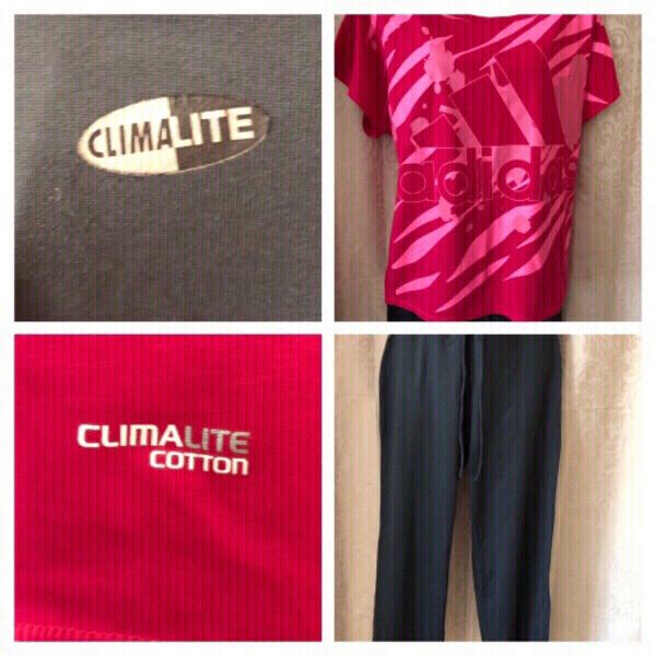 Used Adidas Sport outfit woman climalite in Dubai, UAE