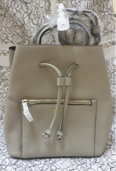 Used New Bucket Bag in Cream Shade in Dubai, UAE
