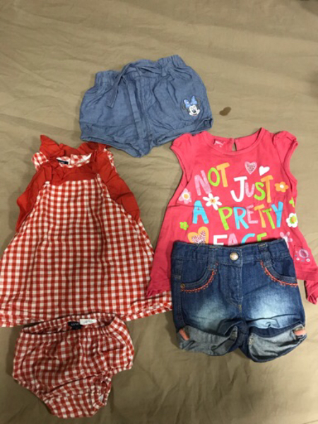 Used Baby clothes 3 to 6m(50 dhs) in Dubai, UAE