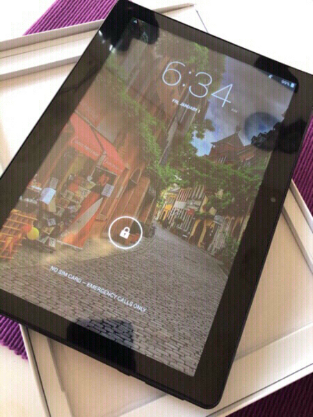Used Android Tablet/Mediatek/T906/Black in Dubai, UAE