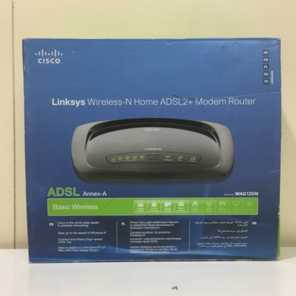 Used Adsl router linksys in Dubai, UAE