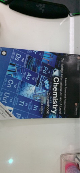 Used Chemistry Textbook for AS And A Level in Dubai, UAE