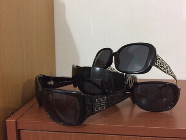 Used Glasses 4 together Chanel guess Givenchy in Dubai, UAE