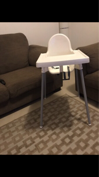 Used Ikea highchair Aed 50 in Dubai, UAE