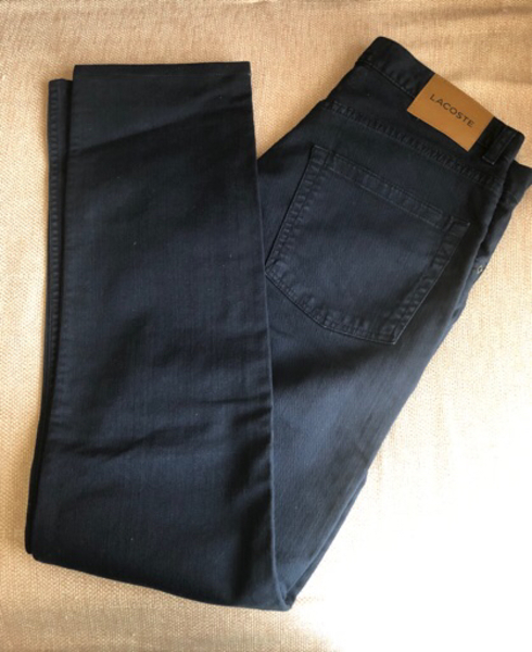 Used Stretch fit W32/L34 Lacoste Jeans in Dubai, UAE