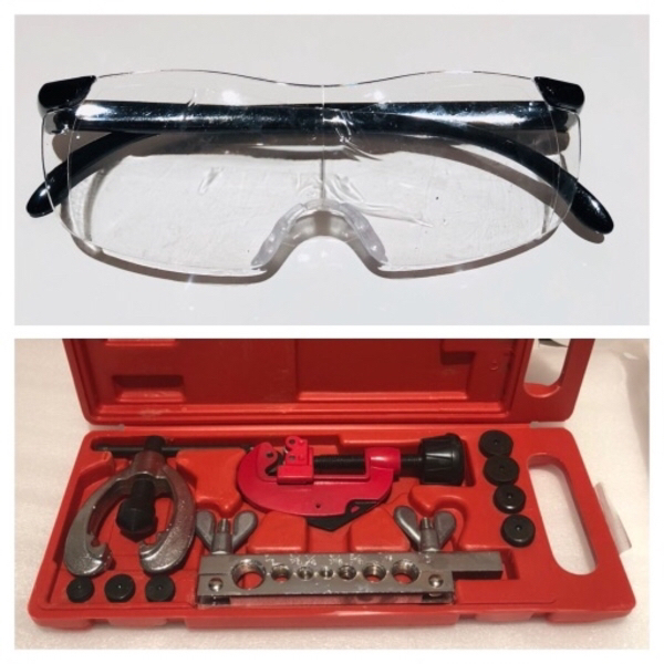 Used 10 Pieces Double Flaring Tool & safety👓 in Dubai, UAE