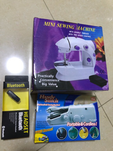 Used Buy sewing machine get two free gifts!  in Dubai, UAE