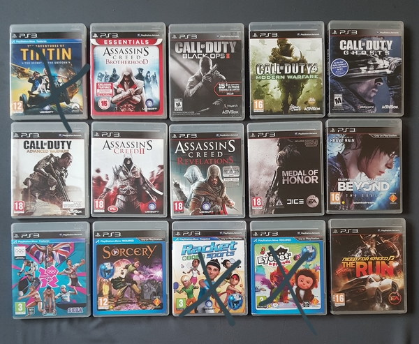 Used PS3 Famous games in Dubai, UAE