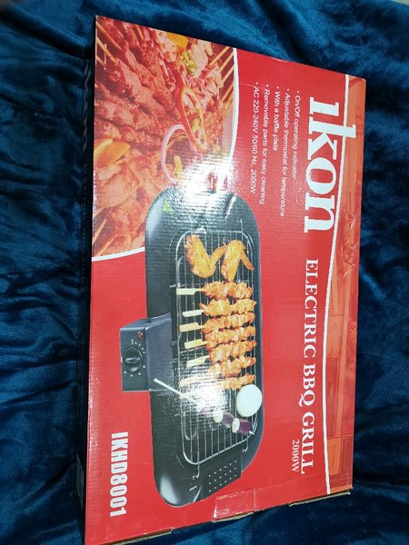 Used Brandnew Ikon Electric BBQ Grill in Dubai, UAE