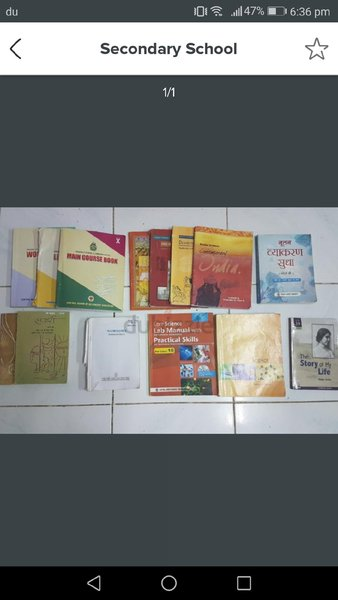Used Cbse grade 10 text books in Dubai, UAE