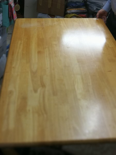 Used Heavy wooden table for living room in Dubai, UAE