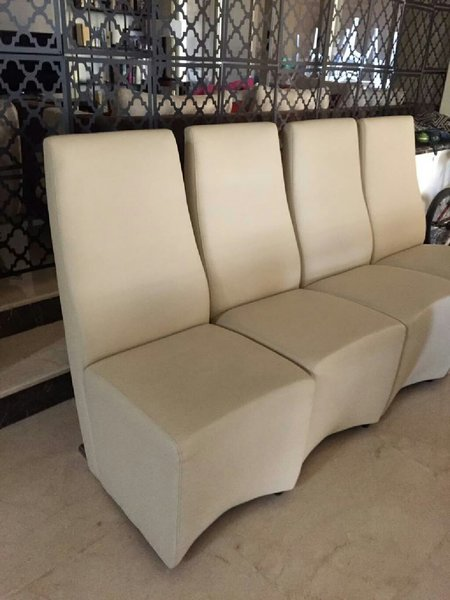 Used Faux leather dinning chairs - total 8 in Dubai, UAE