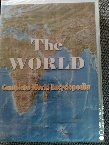 Used World Map CD going cheap in Dubai, UAE