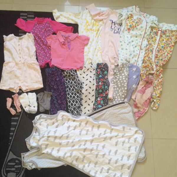 fc261afe Used Bundle Of Baby Clothes 12-18mths. Brands From Cotton On, MotherCare And