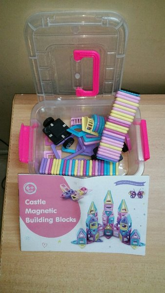 Used DIY Magnetic Building (64pcs) for Kids in Dubai, UAE