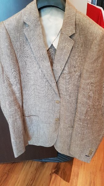Used Sacoor brothers linen jacket in Dubai, UAE