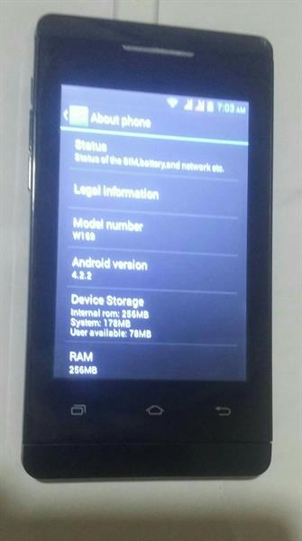 Used Nova Mobile, Android 512mb Ram in Dubai, UAE