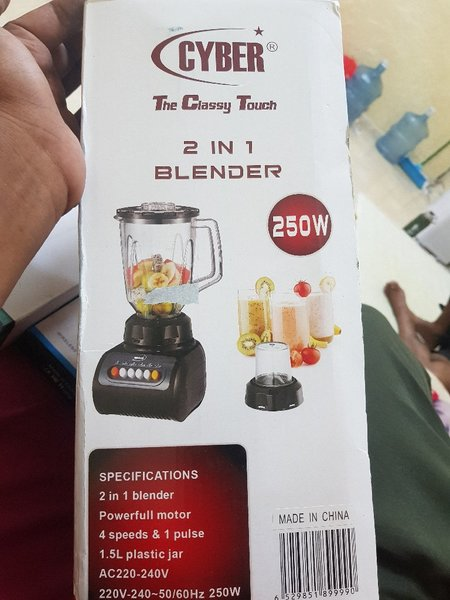 Used Brand new 2 in 1 Blender in Dubai, UAE