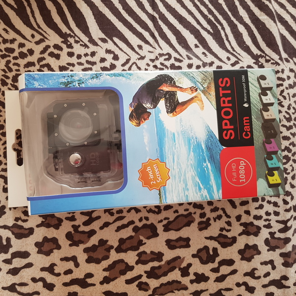 Used New HD water resistant action camera in Dubai, UAE