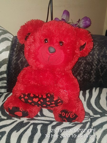 Used Doll love red toy in Dubai, UAE