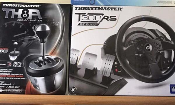 Used Racing Chair, Thrustmaster T300 RS and TH8A Add on Shifter  in Dubai, UAE