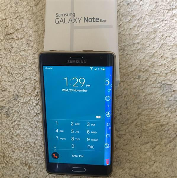 Used Samsung Note 4 Edge 32gb Black Used. Only 1 Pcs Have  in Dubai, UAE