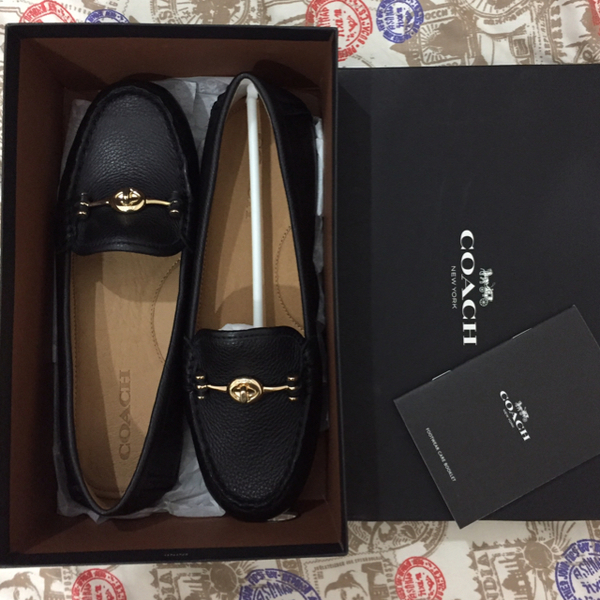 Used COACH Brand New Loafers Size 8 M .  in Dubai, UAE