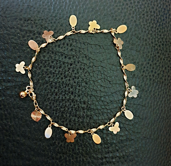 Used 10k anklet elegant design in Dubai, UAE