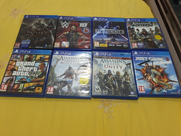Used Games in Dubai, UAE