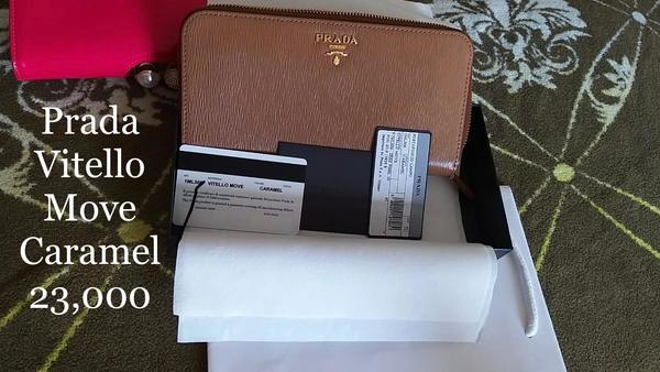 Used Original and brand new Prada wallet in Dubai, UAE