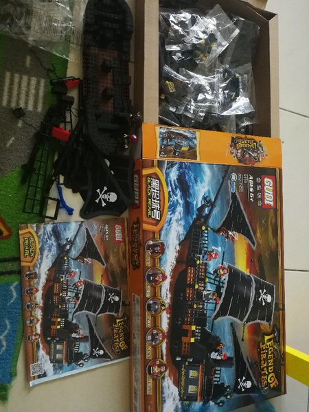 Used Legends of Pirates. 652pc in Dubai, UAE