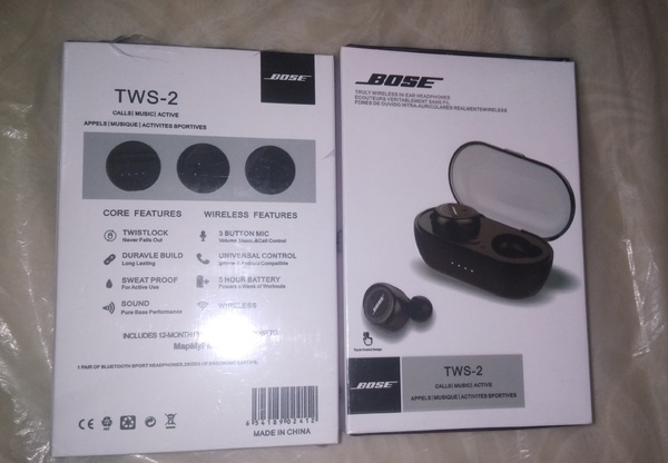 Used BOSE TWS-2 NEW CREASY DEAL  LIMITED STK in Dubai, UAE