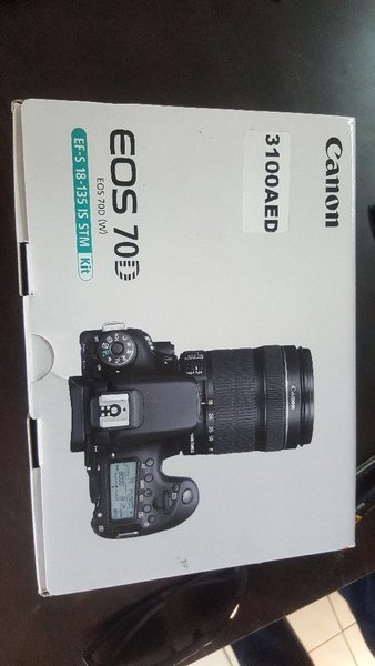 Used Canon EOS 70D EF-18-135 IS STM in Dubai, UAE