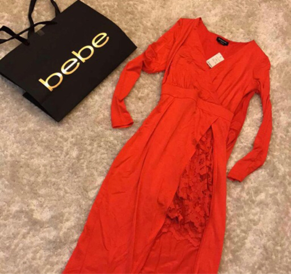 Used Dress BEBE brand new size xxs  in Dubai, UAE