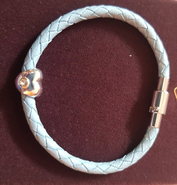 Used 2pcs milano genuine leather bracelets in Dubai, UAE