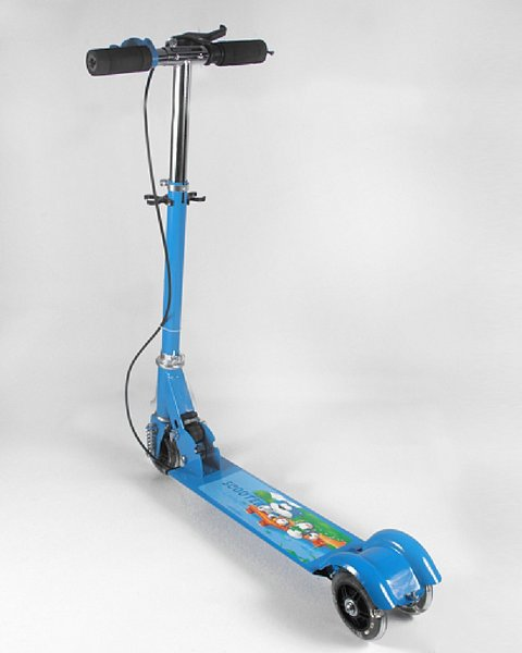 Used Kids scooter - foldable - NEW in Dubai, UAE