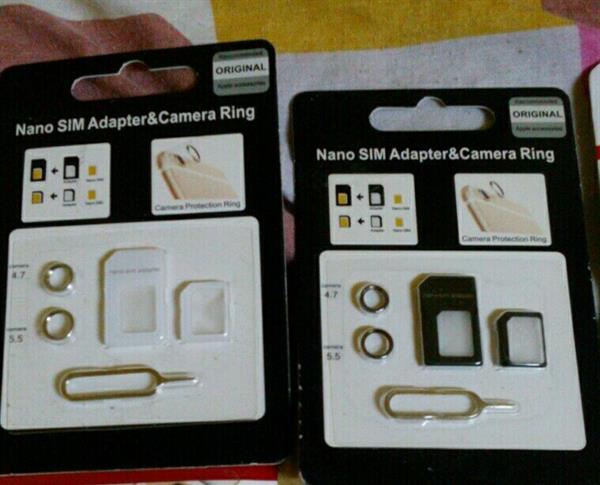 Used Grip Your Phone And Nano SIM Adapter And Camera Ring in Dubai, UAE