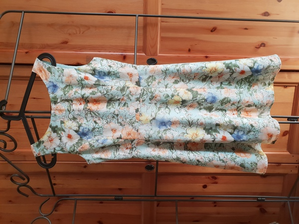 Used Forever 21 Mint Green Floral Print Dress in Dubai, UAE