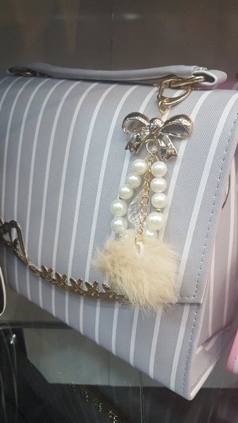Used Trendy purse with free wallet gift in Dubai, UAE