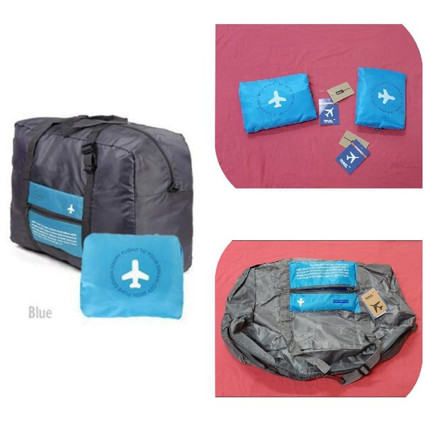 Used Large Capacity travel folding bag 2 pcs. in Dubai, UAE