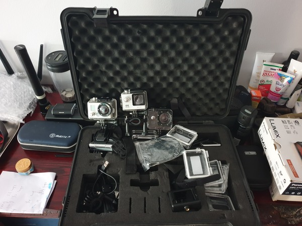 Used Action cameras in Dubai, UAE
