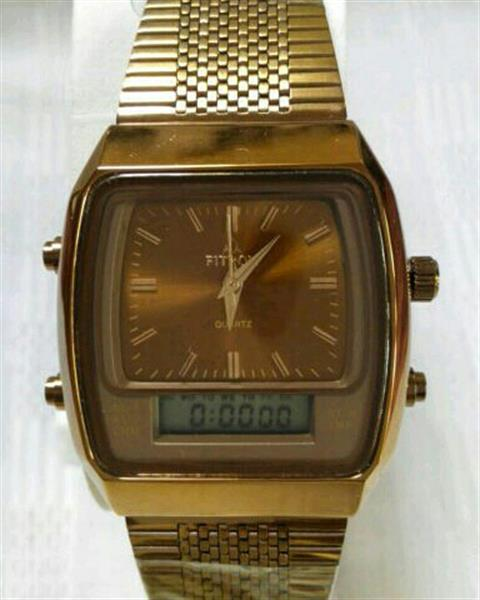 Used Fitron Double Time Guaranteed Watch, Alarm,TImer, Day Date in Dubai, UAE