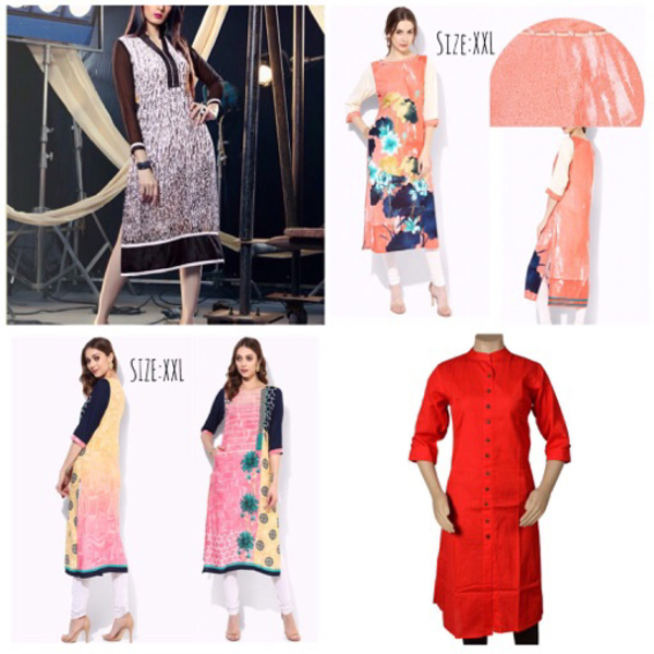 Used 4 pieces brand new Kurtis  in Dubai, UAE